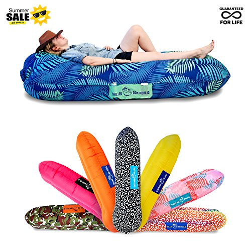 Chillbo Don POOLIO Best Pool Floats Inflatable Lounger River Float Air Lounge Hammock Sun Bed Pool Toy Floating Mattress (Patent Pending)