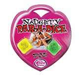 Sex Dice Game NAUGHTY PARADICE - Adult Foreplay Erotic Gift The Love Game