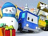 Snowman and Giant Sledge Slide / Christmas Preparation