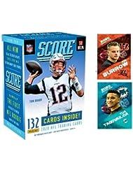 NEW 2020 Panini SCORE Football Blaster Box - 132 Cards/Box - 1 Hit Per Box! Look for EXCLUSIVE Tom Brady Tribute Cards. PLUS JOE BURROW and TUA Custom Football Cards!