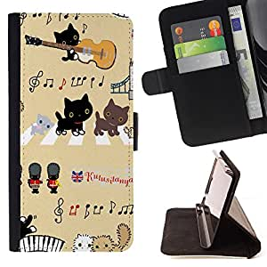 Dragon Case - FOR Samsung Galaxy S3 MINI 8190 - but he missed her - Caja de la carpeta del caso en folio de cuero del tir¨®n de la cubierta protectora Shell