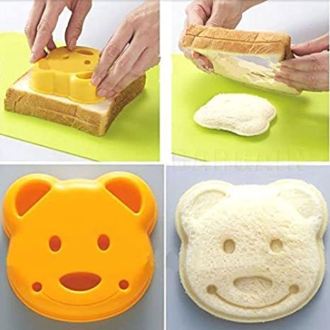 Amazon.com: Japan DIY oso Sandwich pan Arroz de postre Toast ...