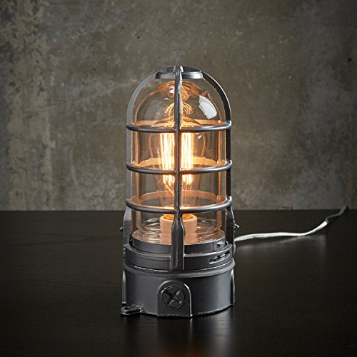 THE VAPOR TOUCH - Very solid Industrial lamp with Touch dimmer 120v-240v | MillerLights Original by MillerLights