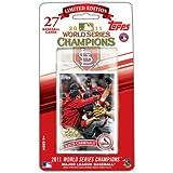 MLB St. Louis Cardinals 2011 Topps World Series Champions Baseball Card Set