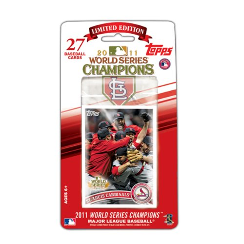 MLB St. Louis Cardinals 2011 Topps World Series Champions Baseball Card Set
