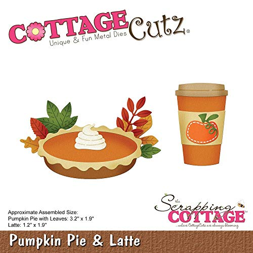 (Cottagecutz Die-pumpkin Pie & Latte 1.2