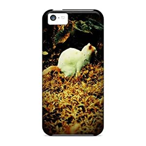Shockproof/dirt-proof Cat Covers Cases For Iphone(5c)