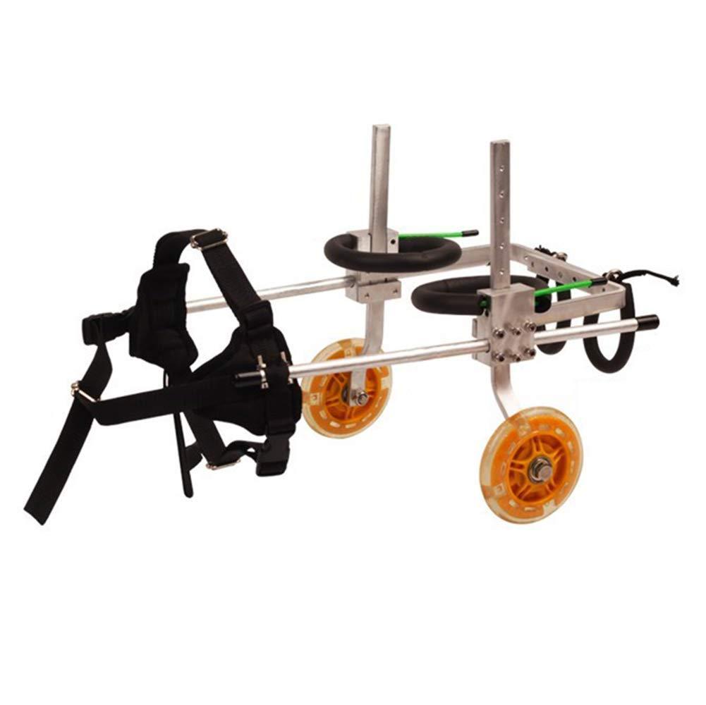 犬の車椅子、ブラケットスクーター切断された犬の骨折した足の携帯用折りたたみ補助補助後足、犬のための、2-50KGペットに適した様々なモデル (サイズ さいず : XXS) B07NZZMJM1  S s S s