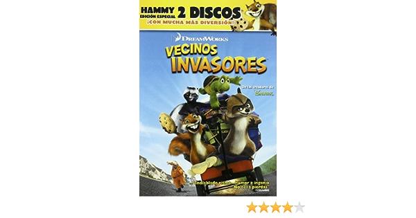 Vecinos Invasores (Edición especial) [DVD]: Amazon.es: Voces ...