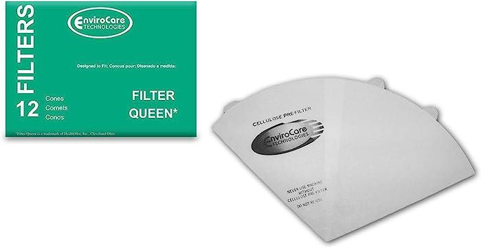 Los 12 Filter Queen Majestic Filter Cones