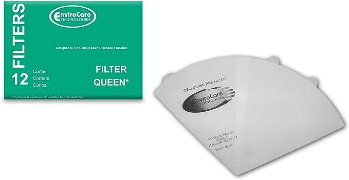 PKG//12 FILTER QUEEN Cone Filters