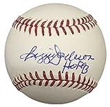 Reggie Jackson New York Yankees Signed Rawlings MLB Baseball HOF 93 JSA