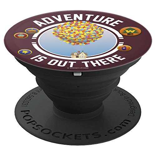 Disney Pixar Up Adventure Is Out There Flying House Patches - PopSockets Grip and Stand for Phones and Tablets