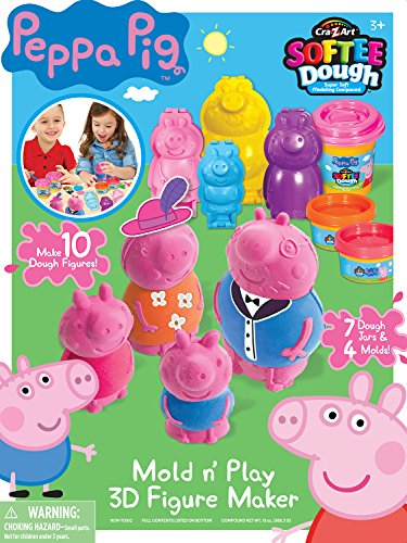 Cra-Z-Art Peppa Pig Softee Dough Figure Maker (Large) Action Figure