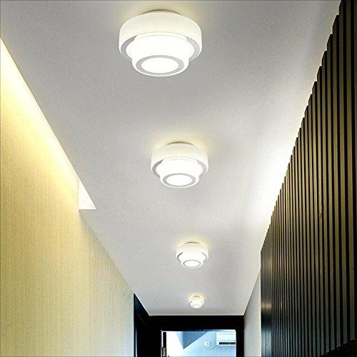 Rfjj Applique Murale Allee Lumieres Couloir Entree Lampe Led