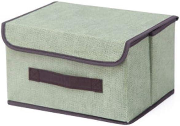 LTDD Caja de Almacenamiento, cajones, Caja Plegable, Accesorios de Oficina, apartamento, con Tapa, Sistema de ordenación de Cubos, cestas, Cajas, 02, 25 * 19 * 16cm: Amazon.es: Hogar