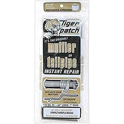 Tiger patch Jumbo Muffler & Tailpipe Repair Tape: Automotive