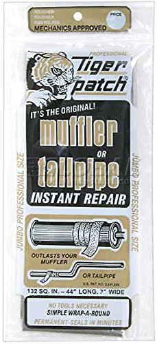 - Tiger patch Jumbo Muffler & Tailpipe Repair Tape