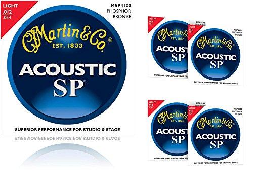 Martin MSP4100 Phosphor Bronze Light Acoustic Strings - Martin Studio Sp
