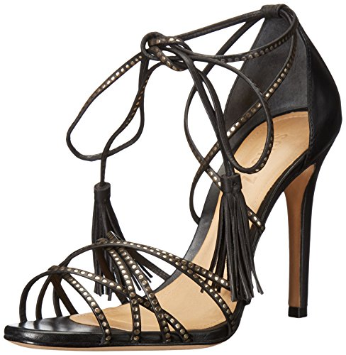 Dorinha Schutz Sandal Dress Black Women's 1xq8U