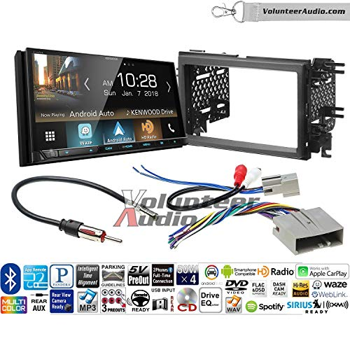Volunteer Audio Kenwood Excelon Ddx8905s Double Din Radio Install Kit With Apple Carplay Android Auto Bluetooth Touchscreen Fits 2007 2010 Edge Without Factory Amplified Sound