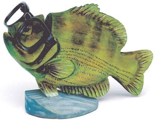 Bass Fish Peeper - Wood Eyeglass And Business Card Holder