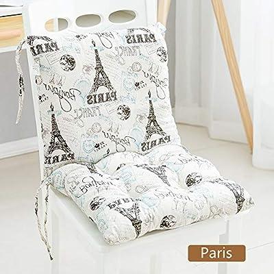 Nicole Knupfer - Cojín para silla de jardín (espuma suave), París ...