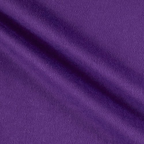 A.E. Nathan Comfy Flannel Solids Grape Fabric By The Yard Nathan Comfy Flannel