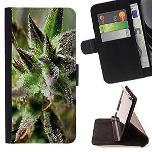 Jordan Colourful Shop -Weed weed hipter quote Marijuana Kush Weed -- Leather Case Absorci¨®n cubierta de la caja de alto impacto FOR Samsung Galaxy S6 G9200 ---