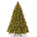 """National Tree 9 Foot""""Feel-Real"""" Downswept Douglas Fir Tree with 900 Clear Lights (PEDD1-312-90)"""