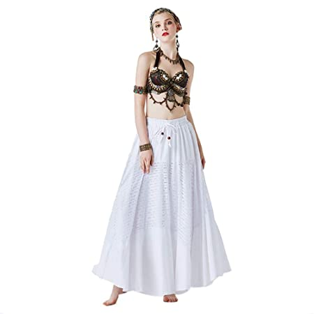 Asdflina Falda de Danza del Vientre Disfraz de Danza del Vientre ...