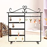 Summarytip Classic Black Jewelry Hanger Stand for Earrings / Necklaces / Bracelets