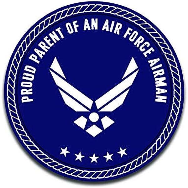 Airman Circle Magnet Proud Parent of a U.S