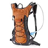 us army stove - Hydration Pack Backpack with 70 oz 2L Water Bladder for Running, Hiking, Cycling, Climbing, Camping, Biking (ORANGE)