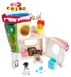 Amazon Com Bratz Babyz Cribz Playset With Dana Doll