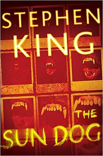 Amazon Fr The Sun Dog Stephen King Livres