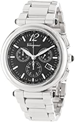 "Salvatore Ferragamo Men's F77LCQ9909 S099 ""Poema"" Stainless Steel Watch"