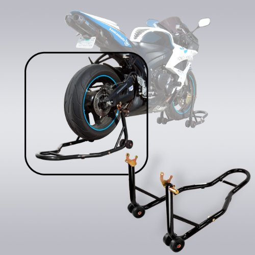Motorcycle Rear Wheel Stand (Apontus Motorcycle Rear Wheel Spool Lift Stand,)