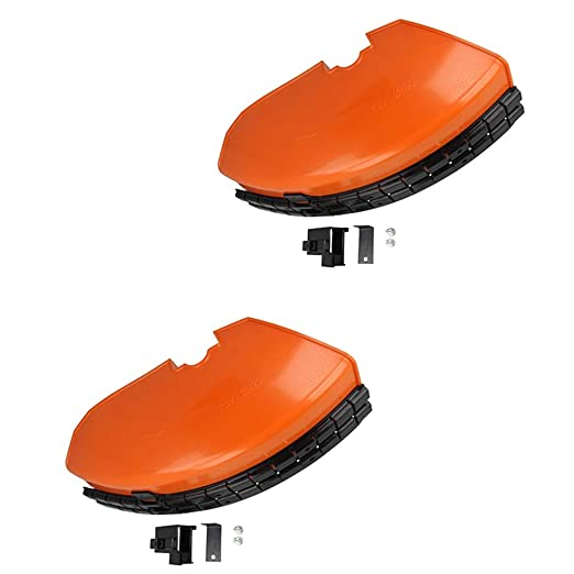 Baoblaze 2pcs Guardia de desbrozadora Kit Repuesto Stihl FS25 - 4 ...