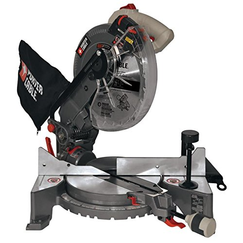 PORTER-CABLE 10-in 15-Amp Single Bevel Laser Folding Compound Miter Saw
