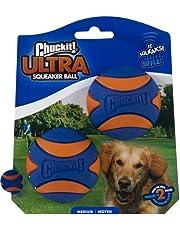 "Ultra Squeaker Ball, Medium, 2.5"" circumference, 2 Count"