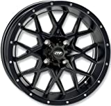 ITP Hurricane Matte Black ATV Wheel Front/Rear 16x7 4/137 - (5+2) [16RB118]