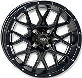 ITP Hurricane Matte Black ATV Wheel Front/Rear 17x7 4/110 - (5+2) [17RB110]