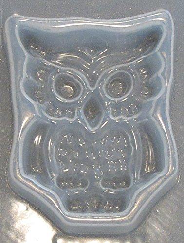 owl resin mold - 1
