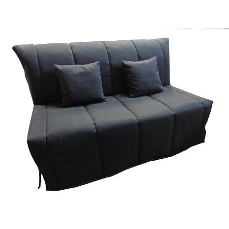 Sofá BZ Convertible FLO Negro 160 * 200 cm Colchón Confort ...
