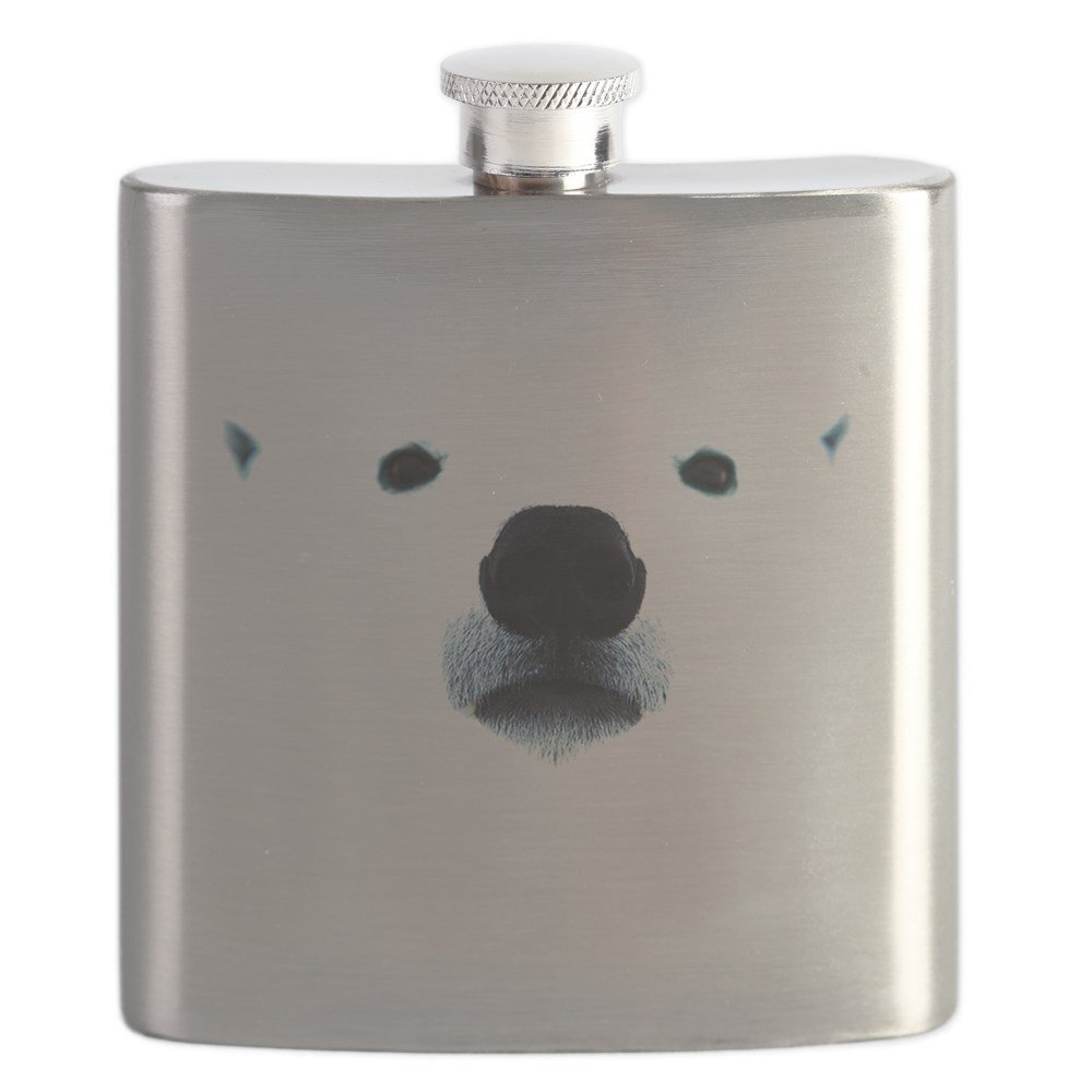 人気大割引 CafePress Polar – Polar Bear Face – – ステンレススチールフラスコ Face、6オンスDrinkingフラスコ B01IUFBX0C, 超特価SALE開催!:69007245 --- a0267596.xsph.ru