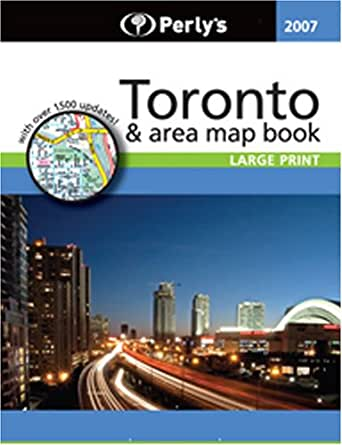 Perlys Aj Map Book of Greater Toronto and Vicinity: Amazon