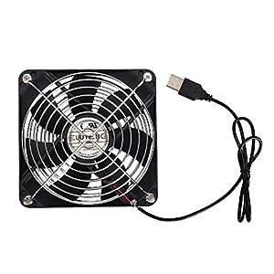 ELUTENG USB Case Fan 120mm Silent Computer Fans USB: Amazon.co.uk ...