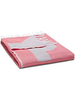 Victorias Secret Pink Beach Blanket Coral