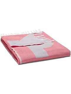 Victorias Secret Pink Beach Blanket Coral